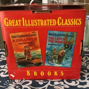 Eight Great Illustrated Classics